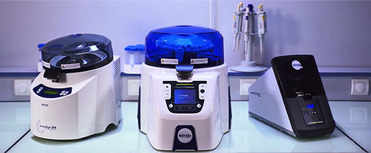 A comprehensive range of tissue homogenizers