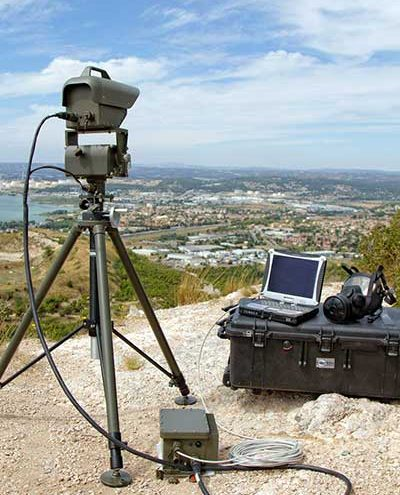 Second Sight MS, standoff real time gas cloud detector for military and civil security