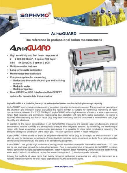 Data Sheet ALPHAGUARD