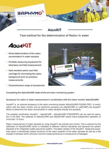 Data Sheet AquaKIT