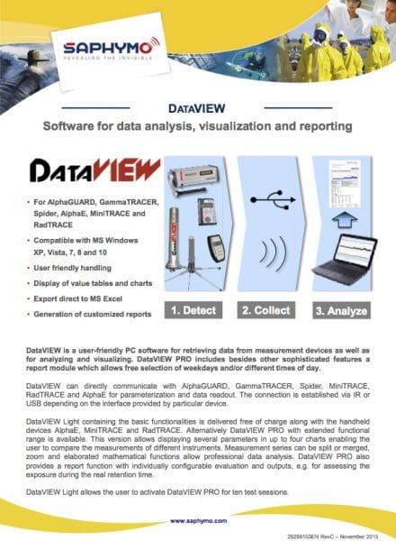 Data Sheet DataVIEW