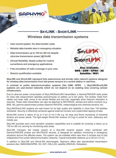 Data Sheet SHORT-&SKYLINK