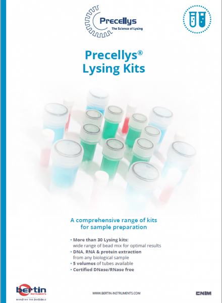 Frontcover lysing kit