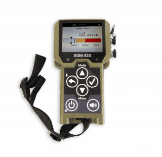 Saphyrad MS - multiprobe survey meter for the military and HAZMAT teams