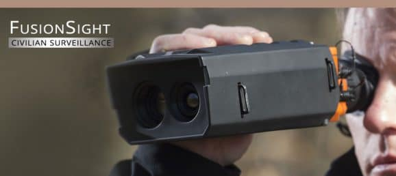 FusionSight Civilian Surveillance - Fully digital Night & Day Vision device
