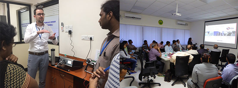 Workshop on Radon Measurements in Mangalore, India