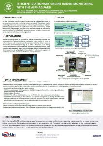 Poster Alphaguard online monitoring